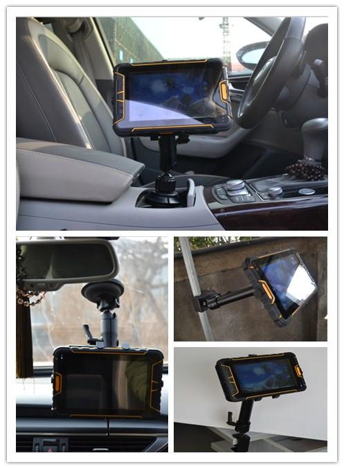 Tablet Android industrial con lector de código de barras - Montaje en vehículos