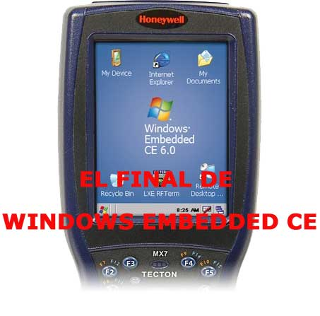 Final para equipos con Windows CE y Windows Embedded
