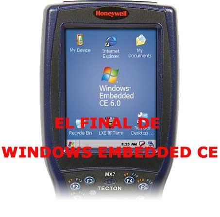 Final para equipos con Windows CE y Windows Embedded