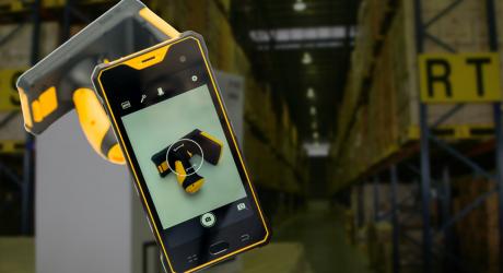 PDA Android industrial con lector de codigo de barras 1D 2D