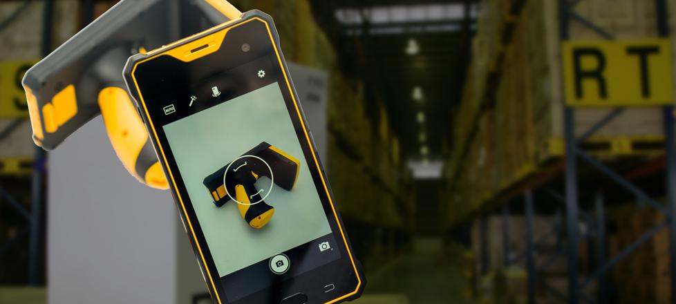 PDA Android industrial con lector de código de barras