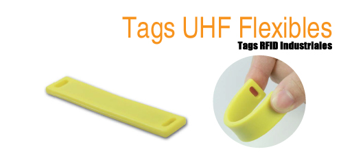 Tags RFID UHF flexibles para superficies no metálicas