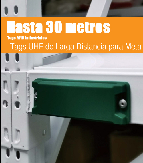 Tags RFID UHF de Larga Distancia para Metal