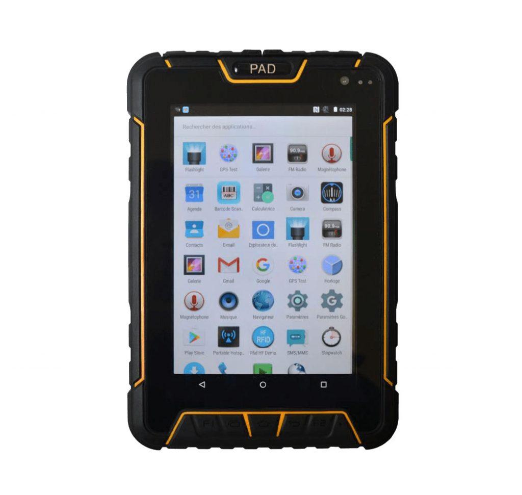 Tablet Android industrial de 7 pulgadas con lector de código de barras ¡¡en oferta!!